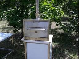 Бытовая печь-гриль (бытовой хоспер) с пицце печью