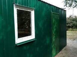 Бытовка, дачный домик, пост охраны, блок-контейнер