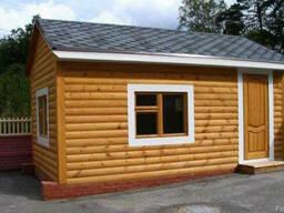 Бытовка из Блок Хауса | Строительство Блок Хаус | Цена Услуг