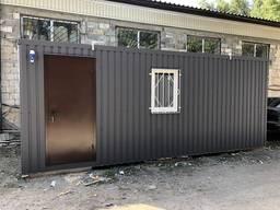 Бытовка-офис 6*2, 4 m