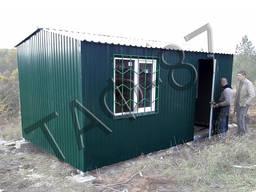 Бытовка строительная 6х2,6х2,3 м, дачный/садовый домик
