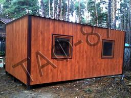 Дачный домик 5х2, 4х2, 3м, бытовка, садовый домик