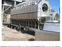 Бюджетные зерносушильные комплексы на базе шахтных, модульных