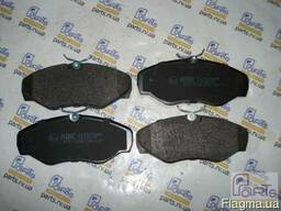 C1X025ABE Комплект тормозных колодок, дисковый тормоз Vivaro
