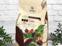 Cacao Barry Ориджин шоколад Cuba (горький, 70%) 1кг.