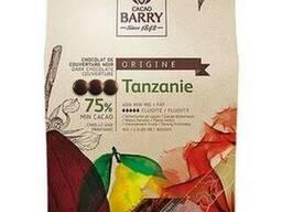 Cacao Barry Tanzania Черный кувертюр