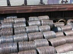 Carbon steel wire rod of common quality DD 5, 5-14, 0 mm