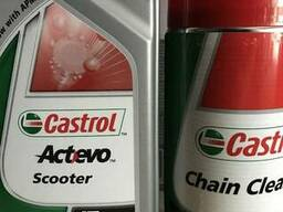 Castrol act evo scooter 4t 5w40 - фото 1