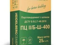 Цемент 25кг М-400 Кривой Рог (зав.)