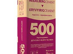 Цемент Кривой Рог М500 в мешках Киев, цемент Хайдельберг опт