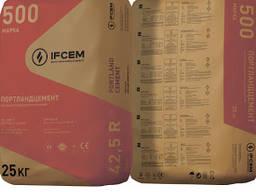 Цемент Івано-Франківськцемент М-500 ПЦ 25 кг від виробника