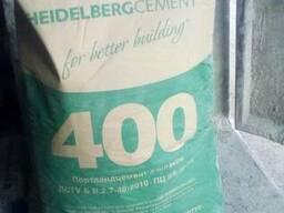 Цемент М 400 М 500 (мешок 25 кг. )