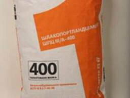 Цемент М 400 ШПЦ ӏӏӏ/А-Ш-400 в мешках фасованный