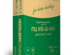 Цемент М-400 заводская упаковка точный вес 25кг