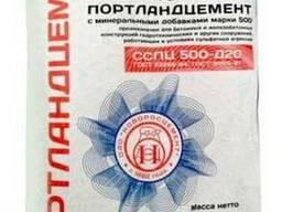 Цемент ( Новороссийский ) марки ПЦ 500 Д20 сульфатостойкий в - фото 1