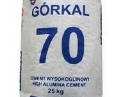 Цемент огнеупорный импортный Gorkal -70