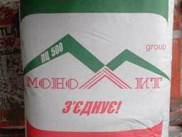 Цемент ПЦ 500 (без добавок) Монолит
