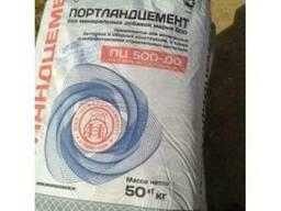 Цемент ПЦ 500 Д0 Новороссийский 50кг