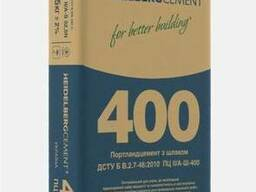 Цемент Портланд ПЦ-А-400; ПЦ-Б-400; ШПЦ-400