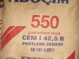 Цемент турецкий ПЦ-550 Харьков, Adocim 25 кг (60шт/пал)