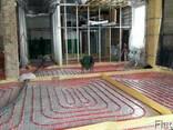 Цементно-піщана стяжка для теплої підлоги - фото 1
