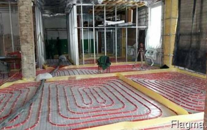Цементно-піщана стяжка для теплої підлоги