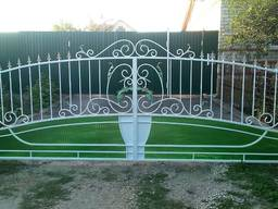 Цена кованых ворот в Луцке