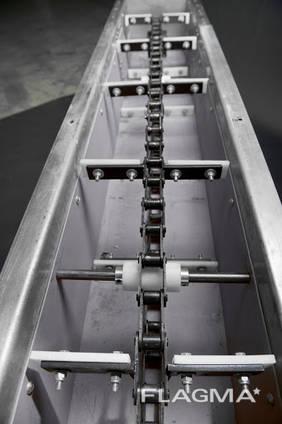Цепь для скребкового транспортера конвейер длиной