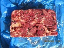 Cердце свинное (блок), картон -
