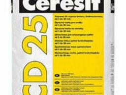 Ceresit CD 25 Ремонтно-восстановительная мелкозернистая. ..