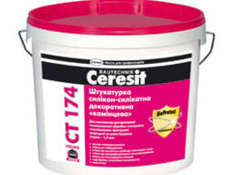 Церезит CТ-174 штукатурка силикон-силикатная «барашек» 1,5мм
