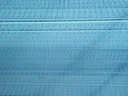 Cетчатые стеллажи для магазинов, торговые металлические стел