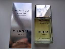Chanel egoiste platinum 100 мл мужская туалетная вода
