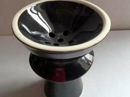 Чаши для кальянов - из обожженной глины и глазурованные