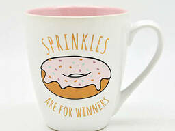 "Чашка ""Sprinkles are for winners""550мл 10321"