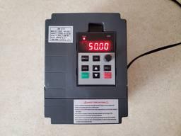 Частотный преобразователь однофазный 220В частотник 2, 2квт 1