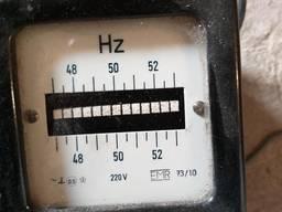 Частотомер EMR, 73\10, 48-50-52Hz. 220в. Германия, -1шт. 15