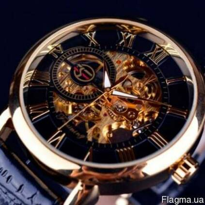 Часы скелетоны Forsining Rich
