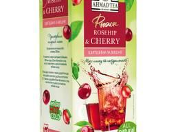 Чай Ahmad Tea Rosehip and Cherry, пакетики, фруктовый, 40 г