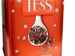 Чай черный с клюквой TESS Holiday Cookies 110 гр.