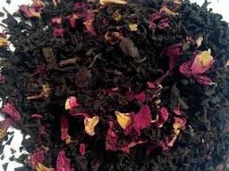 Чай черный с лепестками Розы, Индия