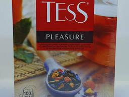 Чай черный с тропическими фруктами TESS Pleasure 100. ..