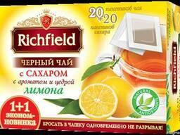 """Чай чорний """"Лимон з цукром"""" пакетований"""