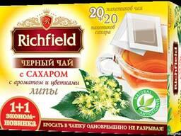"""Чай чорний """"Липа з цукром"""" пакетований"""
