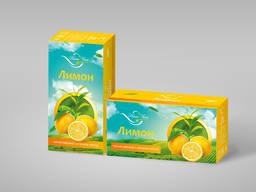 "Чай чорний з ароматом ""Лимон"" 1,3гр*20шт/уп"
