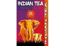 Чай чёрный пакетированный Indian Tea Классический 20 х 1. 8 г