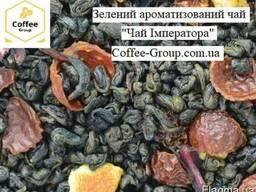 """""""Чай імператора"""" Зелений ароматизований чай"""