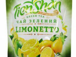Чай с лимоном Тянь Шань зеленый Лимонетто 80 грамм