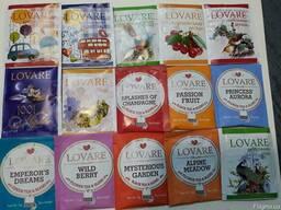 """Чай ТМ """"Lovare"""" в пакетиках"""