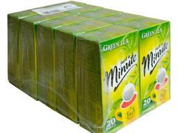 Чай в пакетиках Just a Minute, зелёный, 1, 4g*20шт, 10 уп.